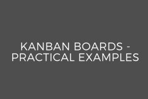 Sample Kanban Boards